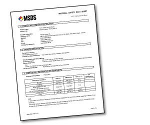 ECO Laser sheet MSDS
