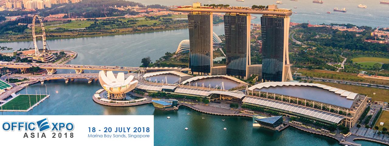 TRAXX in OFFICEXPO ASIA 2018