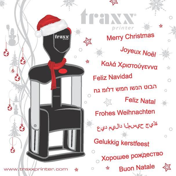 Season wishes from TRAXX